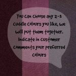 Cuddle - Mixed Colours 1 - Hippo Hug Weighted Blankets Fabric