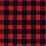 Cotton - Red Buffalo Check - Hippo Hug Weighted Blankets Toronto