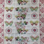 Cotton Butterfly border