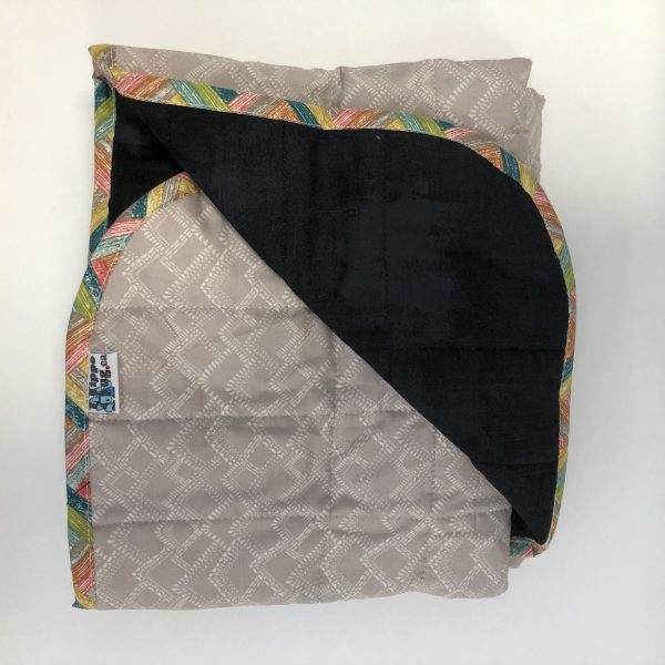 $285 40x50 18lbs Mountain Top- Cotton Limestone Mountains with Cotton Onyx- Hippo Hug Weighted Blankets- Compared at $305 Save $20
