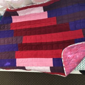 $300 40x60 15lbs Be Mine- Mixed Cuddle Heart with Cotton Berry- Hippo Hug Weighted Blankets- Compared at $320 Save $20