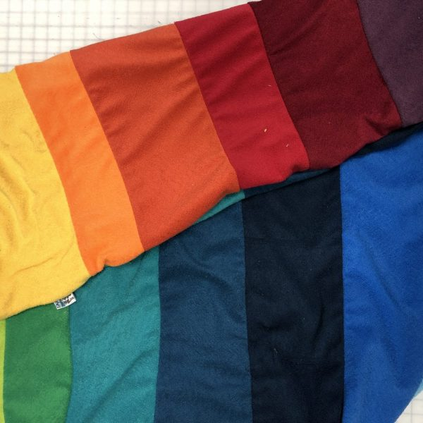 $85 Rainbow Crash Mat- Hippo Hug Weighted Blankets