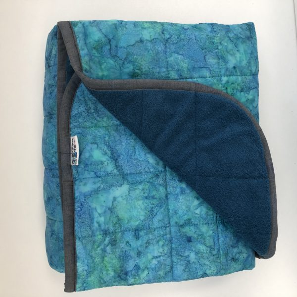 $300 40x60 18lbs Parakeet- Cotton Parakeet with Cuddle Deep Sea- Hippo Hug Weighted Blankets- Compared at $320 Save $20