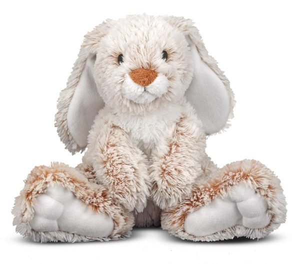 $75 Bunny 4lbs- Hippo Hug Weighted Animal
