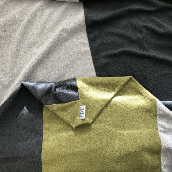 $95 Large Crash Mat -Grey with a Hint of Green- Hippo Hug Weighted Blankets