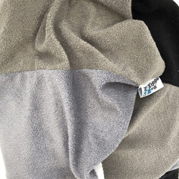 $75 Small Hippo Chill Crash Mat Grey- Hippo Hug Weighted Blanket