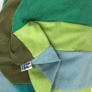 $95 Large Hippo Chill Crash Mat Green- Hippo Hug Weighted Blankets