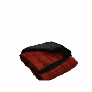Weighted Blankets-40x50 18lbs-Red and Grey