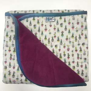 $235 Short Weighted Blanket (40x50) 7lbs - Cactus Hedgehog - Cuddle Fucshia - compare at $245 save $10