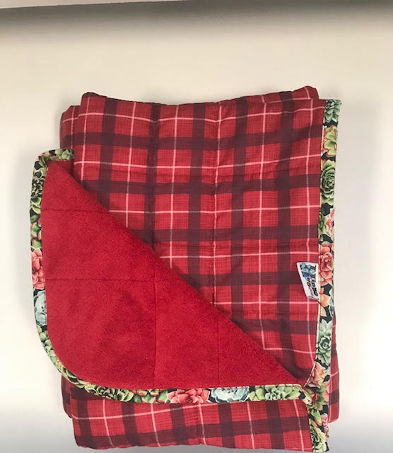 $260 - Short Weighted Blanket 40x50 12lbs - Summer Camp - Compared at $270 save $10