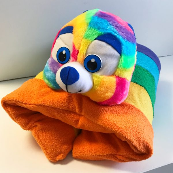 Bear - 6lb Lap Pad Rainbow Weighted Animal $135.00