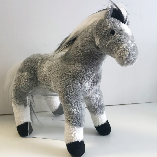 Grey Horse - 4lb Weighted Animal $75.00