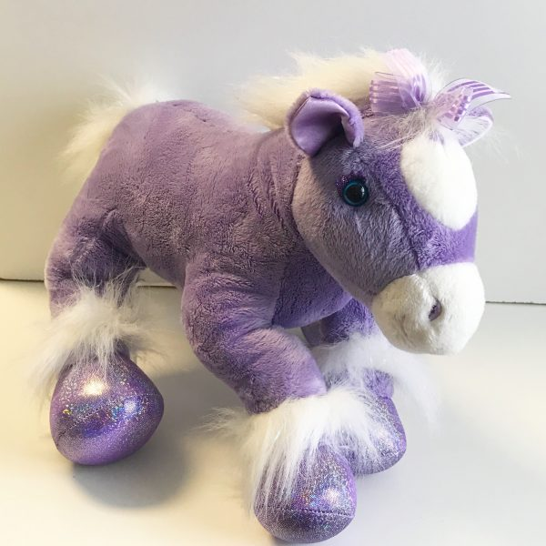 Sparkles The Horse - 6lb Weighted Animal $75.00