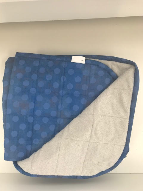$300 - 40x60 15.5 lbs - Blue Spots - Compared at $315 save $15