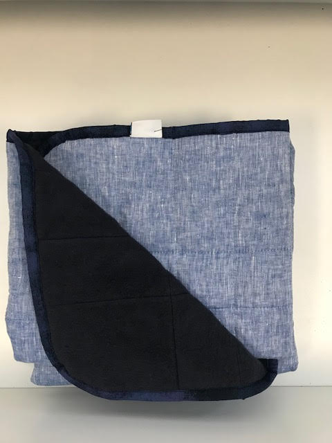 $300 - 40x60 15 lbs - Blue and Navy - Compared at $315 save $15