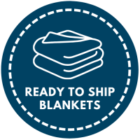 Ready to Ship Blankets Button