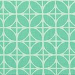 Cotton- Teal Geometric
