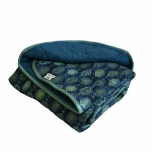 Weighted Blankets- 40x60 15lbs-Blue Leaves