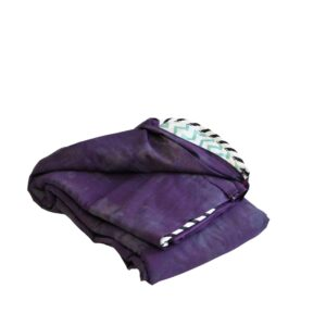 For Sale-Weighted Blankets-30x50 9lbs-Grunge Purple