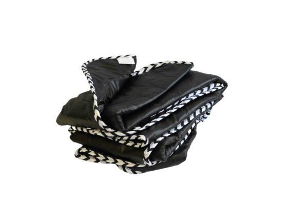 For Sale-Weighted Blankets-Seamless Waterproof-30x50 12lb-Black
