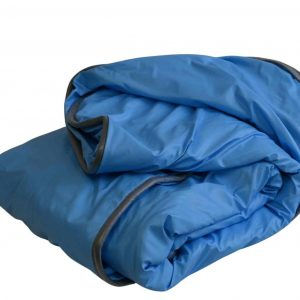For Sale-Weighted Blankets-Seamless Waterproof--30x50 13lb-Baby Blue