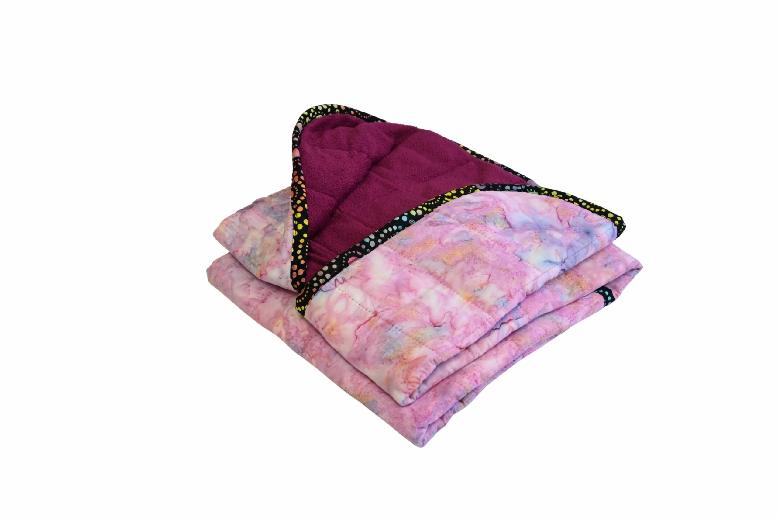 Hippo Hug Pink 4lb 20x50 Weighted Blanket