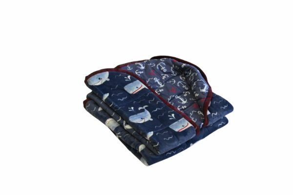 Weighted Blankets-Whales-20x50 7.5lbs