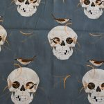 Organic Cotton-Wrens & Skulls
