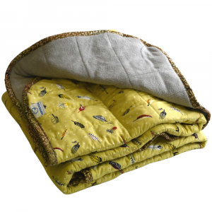"Feather Weight - 18 lb - 40x50""- Weighted Blanket"