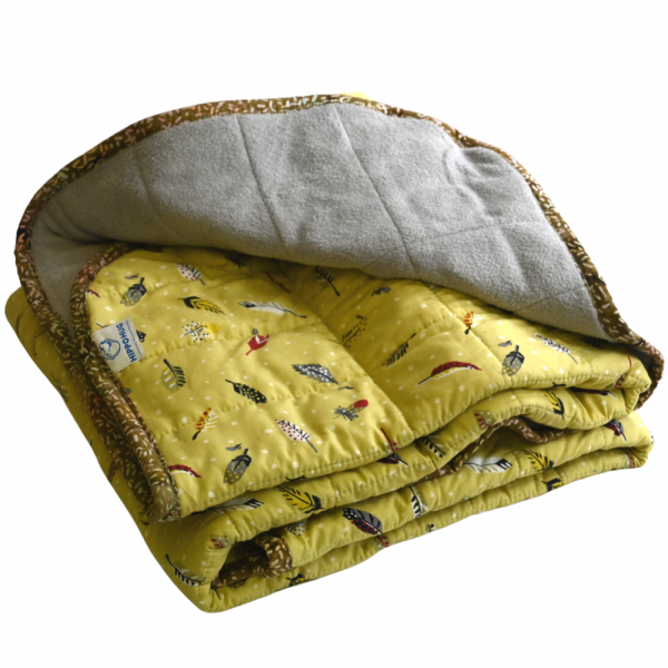 """Feather Weight - 18 lb - 40x50""""- Weighted Blanket"""