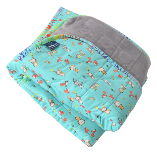 "Hop Skip and Jump - 7lb - 40x50"" - Weighted Blanket"