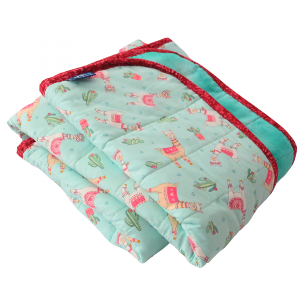 "Llama Love - 12lb-40x50""-Weighted Blanket"